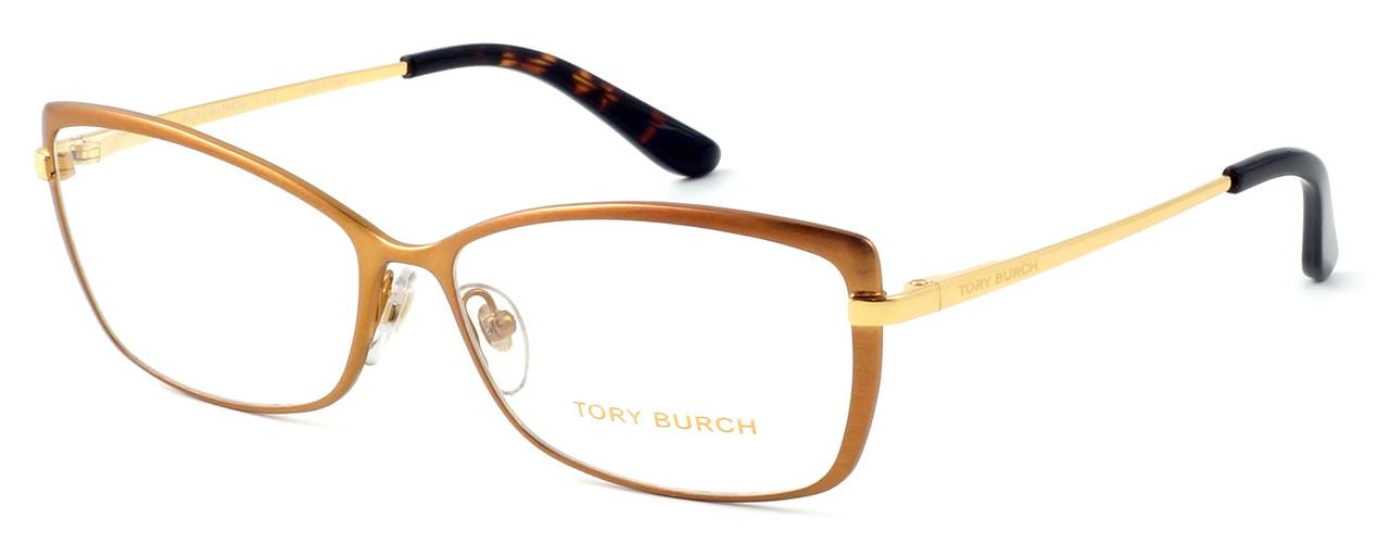 f1916e2360e3 Tory Burch Womens Designer Reading Glasses TY1035-484 in Matte Brushed  Bronze. Loading zoom