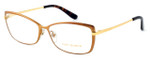 Tory Burch Womens Designer Reading Glasses TY1035-484 in Matte Brushed Bronze