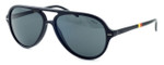Ralph Lauren Polo Designer Sunglasses - PH4062-5001 in Black with Grey Lens
