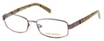 Tory Burch Womens Designer Reading Glasses TY1018-117 in Light Brown
