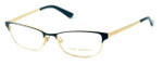 Tory Burch Womens Designer Reading Glasses TY1036-488 in Green & Gold