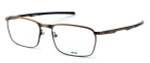 Oakley Optical Designer Eyeglasses Conductor in Toast OX3186-0454 :: Rx Single Vision