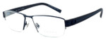 OGA Designer Eyeglasses 7922O-BN051 in Black & Blue :: Progressive