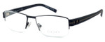 OGA Designer Eyeglasses 7923O-NN062 in Black & Brown :: Progressive