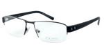 OGA Designer Eyeglasses 7926O-GG082 in Gunmetal & Black :: Progressive