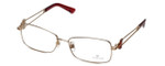 Swarovski Designer Eyeglasses Architect SK5020-28A in Gold :: Custom Left & Right Lens