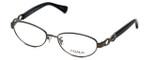 Coach Womens Designer Eyeglasses 'Stacy' HC5062 in Dark Silver Black (9017) 52mm :: Progressive