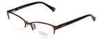 Coach Womens Designer Reading Glasses 'Leigh' HC5046 in Satin Brown (9155) 52mm