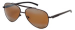 TAG Heuer Designer Sunglasses TH0881-203 in Dark Brown & Brown