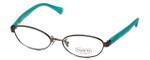 Coach Womens Designer Eyeglasses 'Randi' HC5032 in Dark-Silver (9074) 52mm :: Custom Left & Right Lens