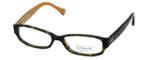 Coach Womens Designer Eyeglasses 'Emily' HC6001 in Dark-Tortoise (5055) 50mm :: Custom Left & Right Lens