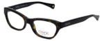 Coach Womens Designer Eyeglasses 'Dahlia' HC6045 in Dark-Tortoise (5120) 51mm :: Custom Left & Right Lens