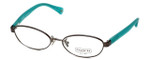 Coach Womens Designer Eyeglasses 'Randi' HC5032 in Dark-Silver (9074) 52mm :: Rx Single Vision