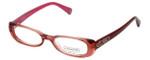 Coach Womens Designer Eyeglasses 'Saige' HC6016 in Burgundy (5054) 46mm :: Progressive
