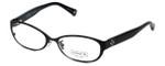 Coach Womens Designer Reading Glasses 'Ashby' HC5029 in Satin-Black (9077) 53mm