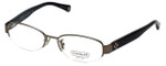 Coach Womens Designer Reading Glasses 'Betsy' HC5030 in Dark-Silver (9074) 52mm
