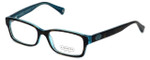 Coach Womens Designer Reading Glasses 'Brooklyn' HC6040 in Tortoise-Teal (5116) 52mm