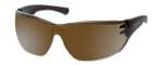 Harley-Davidson Official Designer Sunglasses HD0105V-5G in Brown Frame with Gold-Mirror Lens