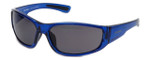 Harley-Davidson Official Designer Sunglasses HD0108V-90A in Blue Frame with Grey Lens