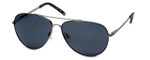 Kenneth Cole Designer Sunglasses KC7043-20A in Silver Frame with Grey Lens