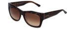 Guess 'Marciano'  Designer Sunglasses Series GN715 in Brown Frame with Amber Gradient Carl Zeiss Lens