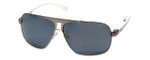 Guess  Designer Sunglasses GU6512 in Silver Frame with Grey Lens