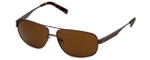 Guess  Designer Sunglasses GU6667 in Brown Frame with Amber Lens