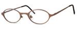 Regency International Designer Eyeglasses Mill 001 in Matte Brown 46mm :: Custom Left & Right Lens