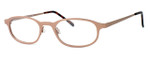 Regency International Designer Eyeglasses Mill 002 in Matte Brown 48mm :: Custom Left & Right Lens