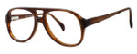 Fashion Optical Designer Eyeglasses Big Boy in Demi Amber 50mm :: Rx Single Vision