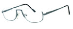 Regency International Designer Reading Glasses Haiflim in Silver 52mm
