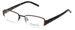 Kenneth Cole Designer Eyeglasses KC0164-048 in Brown :: Custom Left & Right Lens