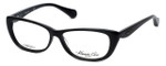 Kenneth Cole Designer Eyeglasses KC0202-001 in Black :: Custom Left & Right Lens