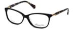 Kenneth Cole Designer Eyeglasses KC0212-001 in Black :: Custom Left & Right Lens