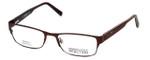 Kenneth Cole Reaction Designer Eyeglasses KC735-049 in Brown :: Rx Single Vision