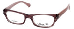 Kenneth Cole Designer Eyeglasses KC0225-074 in Purple :: Progressive