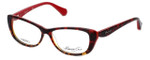 Kenneth Cole Designer Reading Glasses KC0202-054 in Red-Tortoise