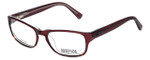 Kenneth Cole Reaction Designer Reading Glasses KC0743-050 in Transparent-Burgundy