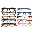 Mens Designer Reading Glasses Variety Pack :: GOLD