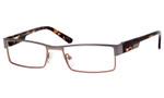 Dale Earnhardt, Jr. 6741 Metal Designer Reading Glasses in Gun-Brown