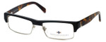 Argyleculture Designer Eyeglasses Powell in Black-Tortoise :: Custom Left & Right Lens