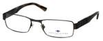 Argyleculture Designer Eyeglasses Dorsey in Gunmetal :: Rx Single Vision