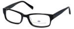 Argyleculture Designer Eyeglasses Hendrix in Black-Blue :: Rx Single Vision
