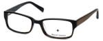 Argyleculture Designer Eyeglasses Hendrix in Black-Brown :: Rx Single Vision
