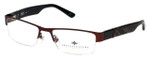 Argyleculture Designer Eyeglasses Parker in Brown :: Progressive
