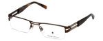 Argyleculture Designer Eyeglasses Reuben in Brown :: Progressive