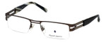 Argyleculture Designer Eyeglasses Reuben in Dark-Gunmetal :: Progressive