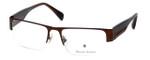 Argyleculture Designer Eyeglasses Rollins in Brown :: Progressive