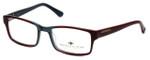 Argyleculture Designer Eyeglasses Mobley in Grey-Red :: Rx Bi-Focal