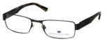 Argyleculture Designer Reading Glasses Dorsey in Gunmetal